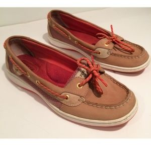 Sperry Top-Sider Women's Boat Shoes Tan Size 9M